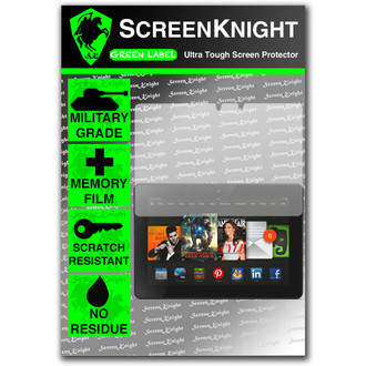 "ScreenKnight Amazon Kindle Fire HDX 8.9"" Front Invisible Shield"