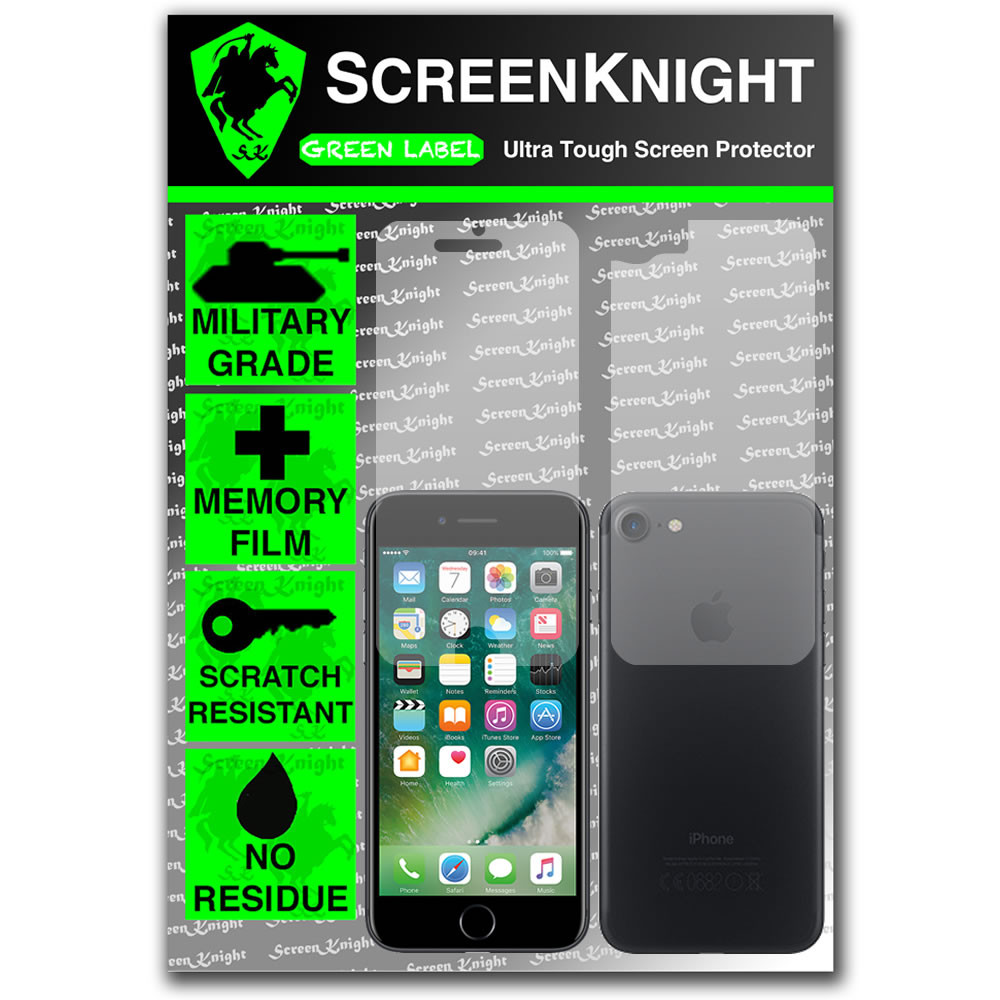 "Apple iPhone 7 / 4.7"" Full Body Screen Protector - Military Shield"