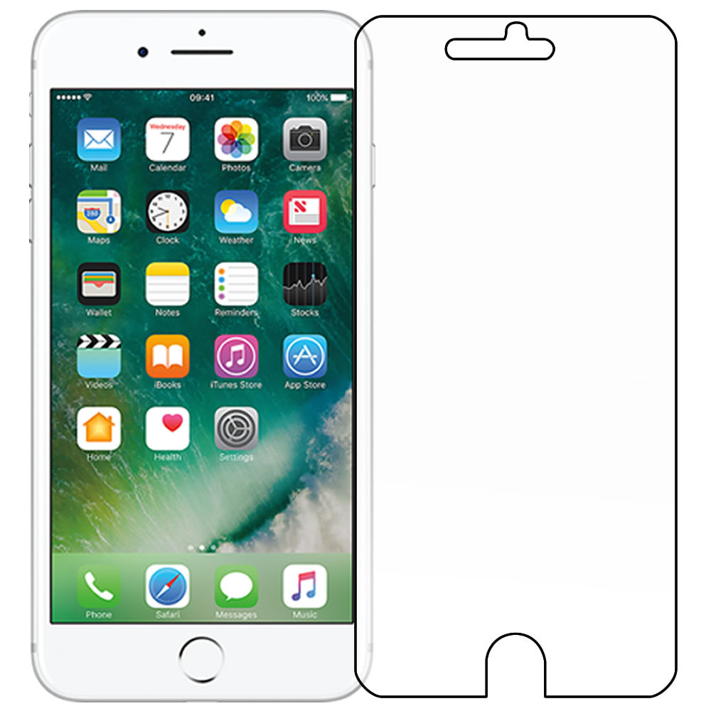 "Apple iPhone 7 - Plus 5.5"" Front Screen Protector - Military Shield"