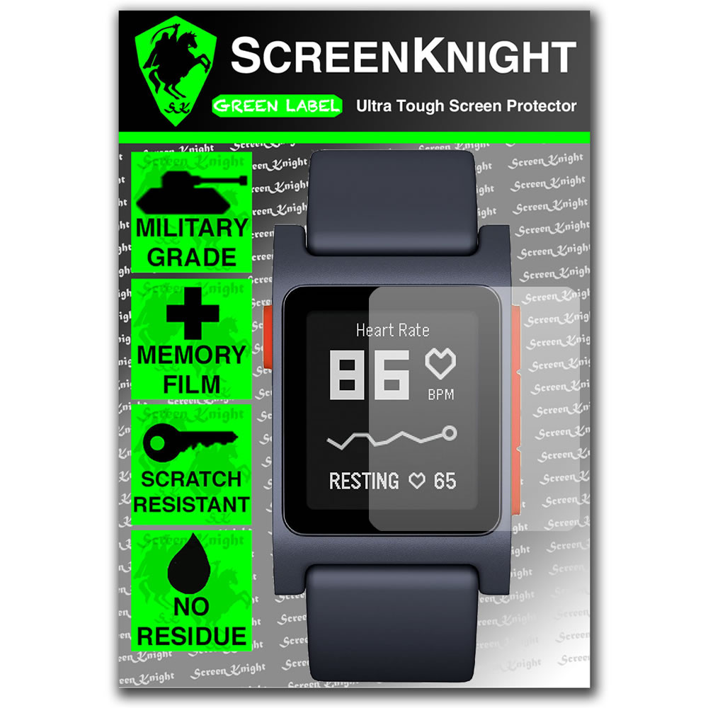 Pebble 2 / Pebble 2 SE Screen Protector - Military Shield - 1 pack