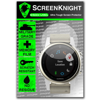 Garmin Fenix 5S Screen Protector - Military Shield [42mm Case]