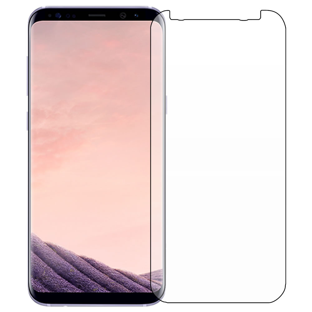 Galaxy S8 Plus (S8+) Screen Protector Outline
