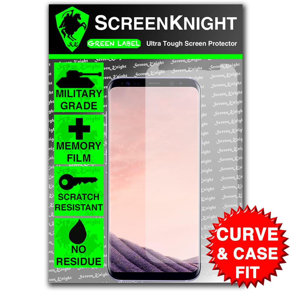 Galaxy S8 Plus (S8+) Screen Protector - Case Fit
