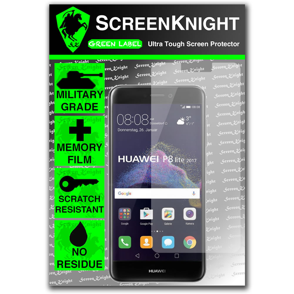 huawei p8 lite 2017 screen protector military shield. Black Bedroom Furniture Sets. Home Design Ideas