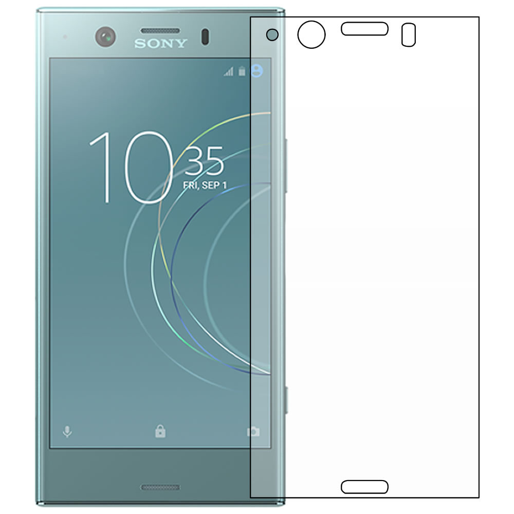 Sony Xperia XZ1 Compact Screen Protector - Military Shield - Front