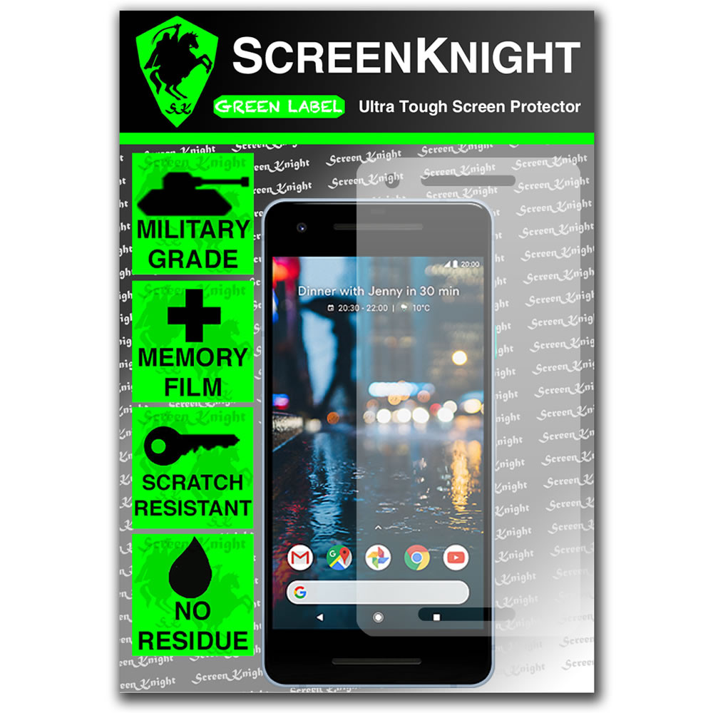 Google Pixel 2 Screen Protector - Military Shield - Front