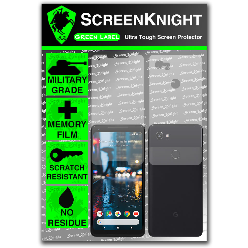 Google Pixel 2 XL Screen Protector - Military Shield - Full Body