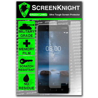 Nokia 8 Screen Protector - Military Shield