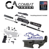 Complete AR15 pistol kit with anderson lower .223/5.56 10.5'' barrel 1:7