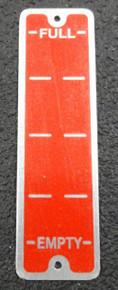 Oil Level Guage Plate
