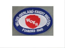 WOKR Club Logo Sew-On-Patch