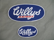 Oval Willys-Knight Patches
