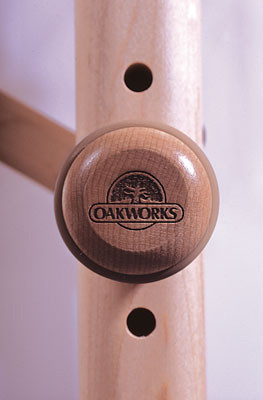 Oakworks Engraved Wooden Knobs