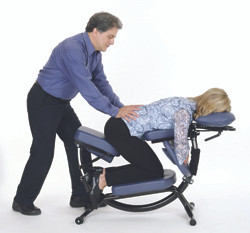 Lower Back Massage on Pisces Pro Dolphin II Massage Chair