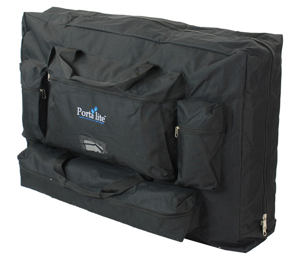 Deluxe Carry case that comes included with the Portalite Delta Super Lightweight Massage Table