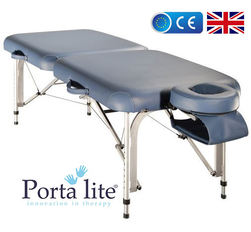 lightweight portable massage table portalite delta ii from europe