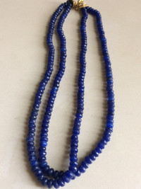 Buy Pakistani Designer Jewelry Blue beads strings
