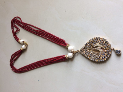 Latest Pakistani Designer Jewelry Allah Locket