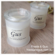 Freida & Gus Remembrance Candle