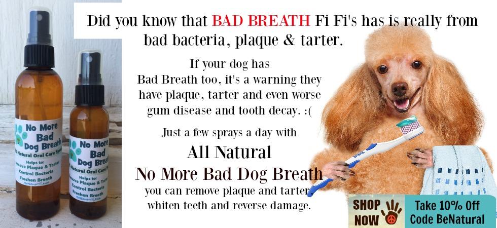 dog breath spray