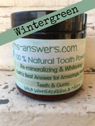 All Natural Remineralizing Wild Wintergreen Tooth Powder
