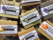 5 for $25 Natural Soaps