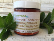 Organic Cocoa Chocolate Mint Tooth Powder from Earth's Answers