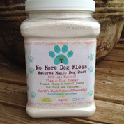 No More Dog Fleas All Natural Flea and Tick Powder Treatment Control and Preventative for Dogs and Puppies