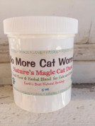 All Natural No More Cat Worms and Wellness Powder