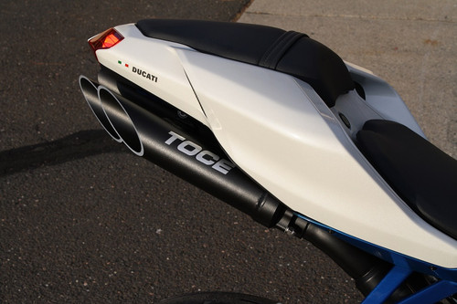 Toce™ 2008-2013 Ducati 848 T-Slash Slip-on Exhaust