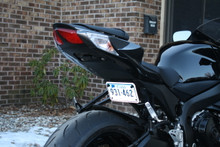 2006-2014 GSXR600,750,1000 UNDER TAIL TAG BRACKET (LICENCE PLATE BRACKET)
