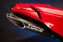 Toce Performance 2007-2011 Ducati 1098/1198 T-Slash Slip-on Exhaust