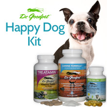 Includes Treatamin, Canine Digestive Enzymes and Bena Fish Oil
