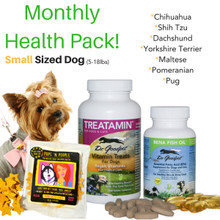 Monthly Health Pack - Small Sized Dog