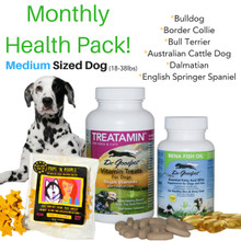 Monthly Health Pack - Medium Sized Dog