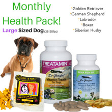 Monthly Health Pack - Large Sized Dog