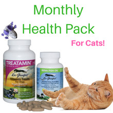 Monthly Health Pack - For Cats!