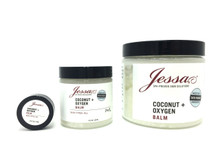 Organic Coconut + Oxygen Balm - 100% fully ozonated olive oil, ingrown hair, ingrowns, redness.