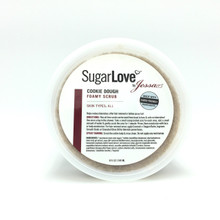 Cookie Dough Foamy Organic Sugar Scrub (1/4, 8oz)