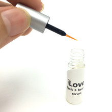 iLove Lash + Brow Serum - eyelash or lash growth serum, and eyebrow or brow growth serum.  Long lashes.