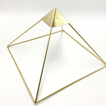 Gold Plated Pyramid