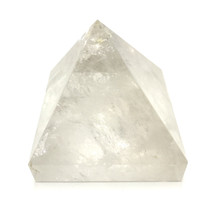 Crystal Quartz Pyramid - Small