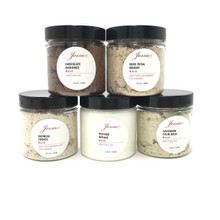 5 New Jessa Masks Full Size + FREE SHIPPING (4oz  of each Oatmeal, Peptide, Chocolate, Lavender, Rose)