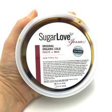 Professional Sugaring Paste 8oz. Cold Organic Sugaring. Professional Body Sugaring.