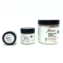 Jessa Vanilla-Soda Blemish Scrub. Acne facial scrub. Face scrub breakouts. Clear skin face scrub.