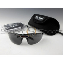 Bolle Contour Smoke Safety PPE Sunglasses Metal Frame