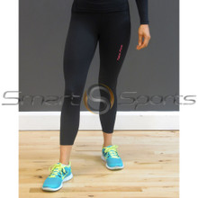 Take 5 Ladies Compression Pants Plain Black | Spandex Long Tights