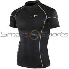 Take 5 Cheap Mens Long Sleeve Compression Top Panel Black