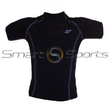 Take 5 Kids Short Sleeve Compression Top Black