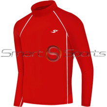 Kids Compression Top Long Sleeve Red Take 5